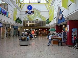 Pentagon Shopping Centre - Inside the Pentagon Shopping Centre