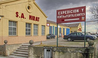 Mirat Spanish company, produces manures and fertilizers