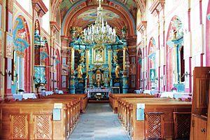St. Martin's Collegiate Church, Opatów - Interior, Church of St. Martin