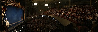 Broadhurst Theatre - Interior Panorama of Broadhurst Theatre. View from stage right, Box C.