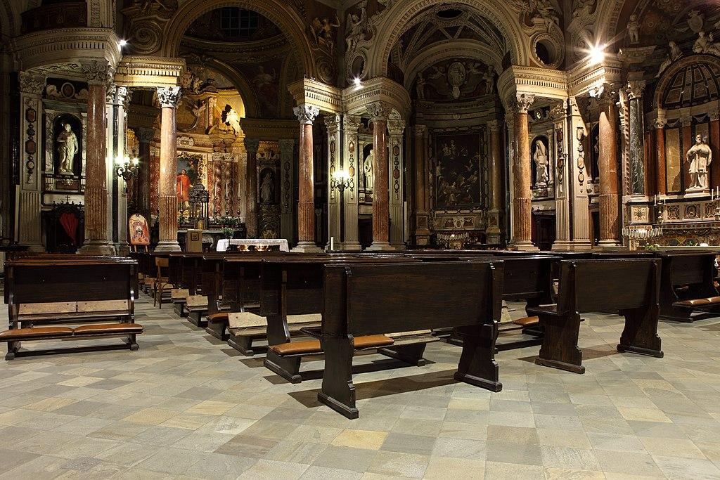 Intérieur de l'église San Lorenzo à Turin - Photo de Ste73ve