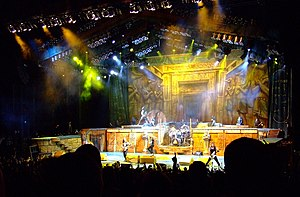 Somewhere Back in Time World Tour - Image: Iron Maiden 47f b