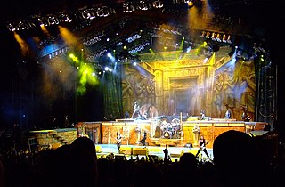 Somewhere Back in Time World Tour 2008–2009 concert tour by Iron Maiden