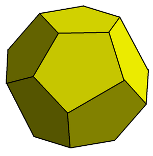 Weaire–Phelan structure - Irregular dodecahedron