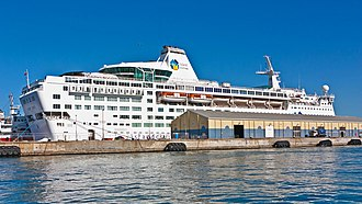 Gibraltar Cruise Terminal - Image: Island Escape at the Port of Gibraltar (cropped)