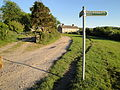 Isle of Wight public footpath NT12.JPG