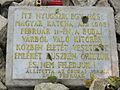Ismeretlen katona sírja a Virágos-nyeregben emléktábla.jpg