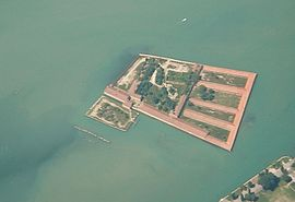 Isola Lazzaretto Vecchio from the air.jpg