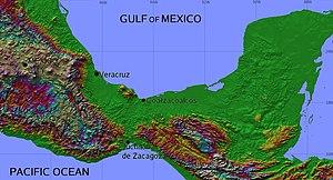 Coatzacoalcos - Image: Isthmus of Tehuantepec