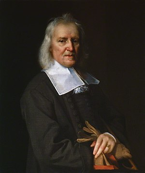 Izaak Walton - Portrait of Walton by Jacob Huysmans, c. 1672