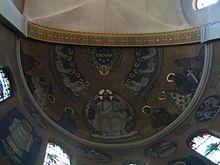 Il nome di Dio nella chiesa di San Martino (Chiesa cattolico-romana), a Olten (Svizzera)