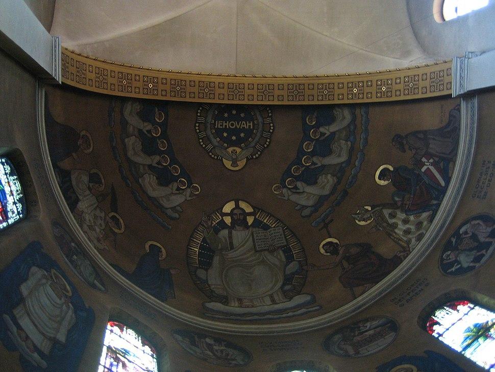JEHOVAH at RomanCatholic Church Martinskirche Olten