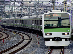 Transport in Greater Tokyo - JR Yamanote Line