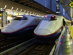 China Railways CRH2 - The CRH2 developed from the E2 Series Shinkansen