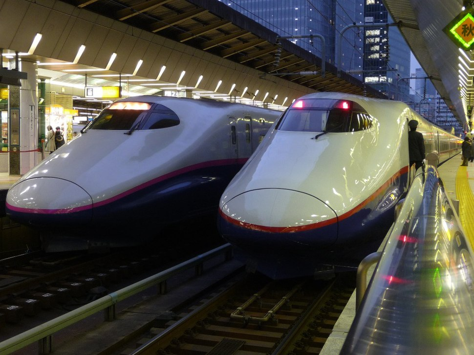 JRE Shinkansen E2 Series-0 and 1000