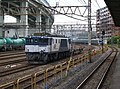 JR Negishi line Negishi station EF64-1042 20090606.jpg