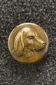 Jacka, detaljbild på knapp. Karl XV - Livrustkammaren - 86140.tif