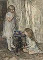 Jacob Maris - Twee meisjes, dochters van de kunstenaar, bellen blazend.jpg