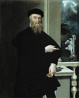 Bindo Altoviti - Portrait of Bindo Altoviti by Jacopino del Conte