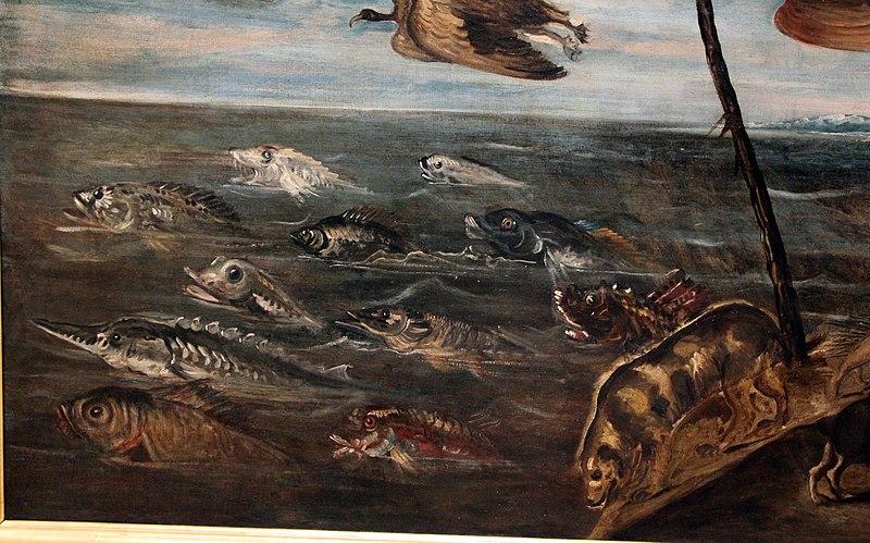 File:Jacopo tintoretto, creazione degli animali, 03.JPG