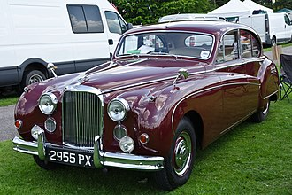 Jaguar Mark IX - 3.8 litre first registered April 1960