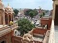 Jaipur City - View from Hawa Mahal 1.jpg