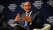 Jakaya Kikwete - Partnerships for Development - World Economic Forum on Africa 2011 - 2.jpg