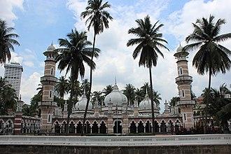 Jamek Mosque - Image: Jamekmosque KL
