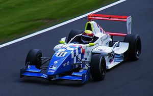 James Calado - Calado competing during the 2009 Formula Renault UK season at Oulton Park