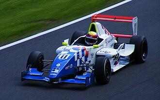 James Calado - Calado competing during the 2009 Formula Renault UK season at Oulton Park