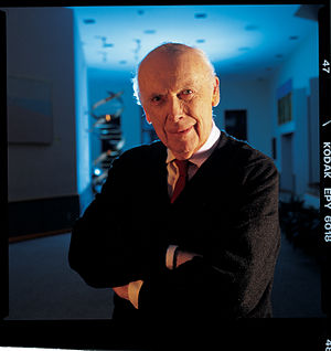 English: Nobel laureate Dr. James D. Watson, C...
