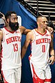 James Harden with Russell Westbrook.jpg