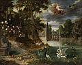 Jan Brueghel dJ (attr) Höfisches Fest in einem Lustgarten.jpg