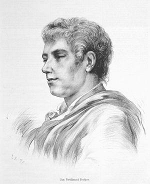 Ferdinand Brokoff - Portrait of Ferdinand Brokoff by Jan Vilímek.