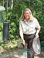 Jane Griess at Savannah Wildlife Refuge, 2 (6982184944).jpg