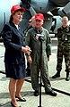 Janet Huckabee at Little Rock Air Force Base - NARA 6519648.jpg