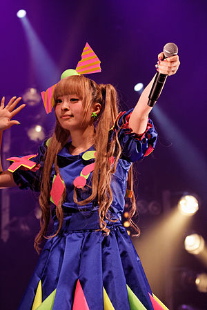 Kyary Pamyu Pamyu discography - Kyary Pamyu Pamyu performing at Japan Expo in 2012