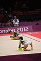 Japan Rhythmic gymnastics at the 2012 Summer Olympics (7915440052).jpg