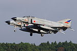 Japan air self defense force Mitsubishi F-4EJ Kai Phantom II 302SQ RJAH.JPG