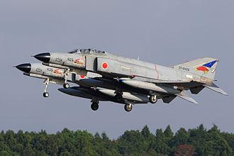 302nd Tactical Fighter Squadron (JASDF) - Image: Japan air self defense force Mitsubishi F 4EJ Kai Phantom II 302SQ RJAH