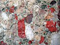 Jasper-quartz pebble conglomerate (Lorrain Formation, Paleoproterozoic, ~2.3 Ga; Ottertail Lake Northeast roadcut, near Bruce Mines, Ontario, Canada) 3 (33831821878).jpg