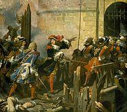 Jean+Alaux,+dit+le+Romain,+Prise+de+Valenciennes.+17+mars+1677