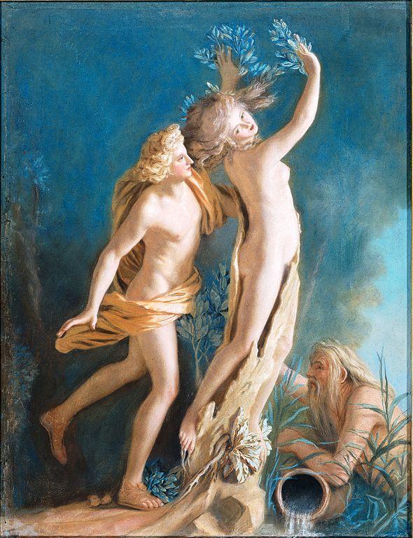 Fichier:Jean-Étienne Liotard - Apollo en Daphne, naar het beeld ...