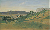 Jean-Baptiste-Camille Corot - View of Olevano - Google Art Project.jpg