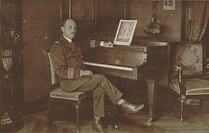 Jean Cras - Jean Cras, ship captain, ca. 1930