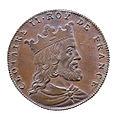 Jean Dassier (1676-1763) - Clotaire II roy de France (584-629).jpg