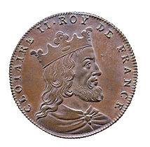 Clotaire II King of France (584-629).