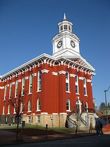 Jefferson County Courthouse Brookville PA Nov 09.jpg
