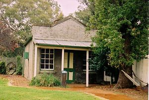Jerilderie - The Jerilderie Telegraph Office, once broken into by Ned Kelly.