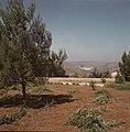 Jeruzalem Hadassah universitair medisch centrum gezien vanaf een heuvel, Bestanddeelnr 255-9293.jpg